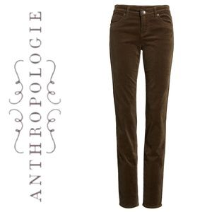 Anthropologie Cloth & Stone Brown Cords